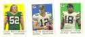 2013 Topps 1959 Mini Football - GREEN BAY PACKERS