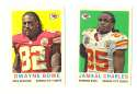 2013 Topps 1959 Mini Football - KANSAS CITY CHIEFS