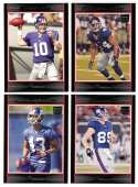 2007 Bowman Football - NEW YORK GIANTS