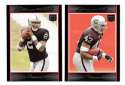 2007 Bowman Football - OAKLAND RAIDERS