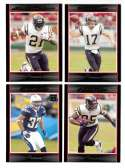 2007 Bowman Football - SAN DIEGO CHARGERS