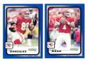 2001 Score Football (Base 1-220) - KANSAS CITY CHIEFS