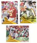 1994 Pinnacle Football Trophy Collection - KANSAS CITY CHIEFS