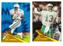 1994 Pinnacle Football Trophy Collection - MIAMI DOLPHINS