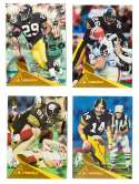 1994 Pinnacle Football Trophy Collection - PITTSBURGH STEELERS