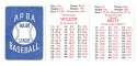 1982 APBA Season w/ Extra Players - KANSAS CITY ROYALS Team Set