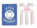 1982 APBA Extra Players Season - DETROIT TIGERS Team Set