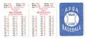 1982 APBA Extra Players Season - LOS ANGELES DODGERS Team Set