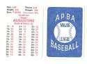 1982 APBA Extra Players Season - MILWAUKEE BREWERS Team Set