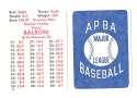 1982 APBA Extra Players Season - NEW YORK YANKEES Team Set