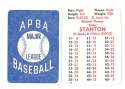 1982 APBA Extra Players Season - SEATTLE MARINERS Team Set