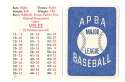 1982 APBA Extra Players Season - TORONTO BLUE JAYS Team Set