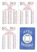 1983 APBA Season - PHILADELPHIA PHILLIES Team Set