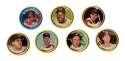 1964 Topps Coins - CLEVELAND INDIANS Team Set