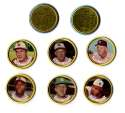 1964 Topps Coins - KANSAS CITY As Team set w/ Causey Variations