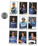 1983 All-Star Game Program Inserts ATLANTA BRAVES Team Set