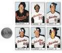 1983 All-Star Game Program Inserts BALTIMORE ORIOLES Team Set