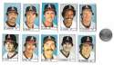 1983 All-Star Game Program Inserts CALIFORNIA ANGELS Team set