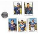 1983 All-Star Game Program Inserts NEW YORK METS Team Set
