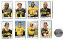 1983 All-Star Game Program Inserts PITTSBURGH PIRATES Team Set