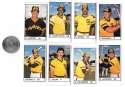 1983 All-Star Game Program Inserts SAN DIEGO PADRES Team Set