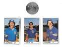 1983 All-Star Game Program Inserts SEATTLE MARINERS Team Set