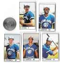 1983 All-Star Game Program Inserts TORONTO BLUE JAYS Team Set
