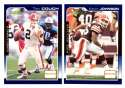 2000 Score (Base) Football Team Set - CLEVELAND BROWNS
