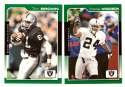 2000 Score (Base) Football Team Set - OAKLAND RAIDERS