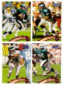 1997 Topps Stadium Club Football Team Set - PHILADELPHIA EAGLES