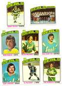 1976-77 Topps Hockey Team Set - California Golden Seals