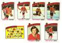 1976-77 Topps Hockey Team Set - Chicago Blackhawks