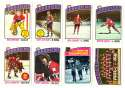 1976-77 Topps Hockey Team Set - Montreal Canadiens