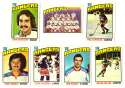 1976-77 Topps Hockey Team Set - New York Rangers
