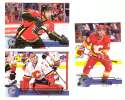 2016-17 Upper Deck (Base) Hockey Team Set - Calgary Flames