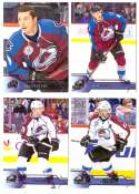 2016-17 Upper Deck (Base) Hockey Team Set - Colorado Avalanche