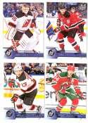 2016-17 Upper Deck (Base) Hockey Team Set - New Jersey Devils