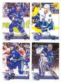 2016-17 Upper Deck (Base) Hockey Team Set - Vancouver Canucks