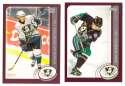 2002-03 Topps (1-340) Hockey Team Set - Anaheim Ducks