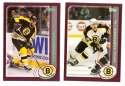 2002-03 Topps Hockey Team Set - Boston Bruins