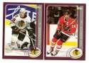 2002-03 Topps Hockey Team Set - Chicago Blackhawks