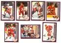 2002-03 Topps (1-340) Hockey Team Set - Detroit Red Wings