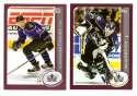 2002-03 Topps (1-340) Hockey Team Set - Los Angeles Kings