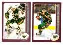 2002-03 Topps (1-340) Hockey Team Set - Minnesota Wild