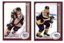 2002-03 Topps Hockey Team Set - Nashville Predators