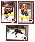 2002-03 Topps Hockey Team Set - Philadelphia Flyers