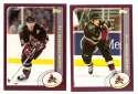 2002-03 Topps Hockey Team Set - Phoenix Coyotes