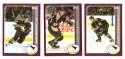 2002-03 Topps Hockey Team Set - Pittsburgh Penguins