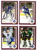 2002-03 Topps Hockey Team Set - Toronto Maple Leafs