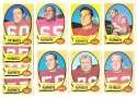 1970 Topps Football (VG Condition Read) Team Set - BOSTON PATRIOTS